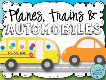 Transportation Posters {Planes, Trains, and Automobiles}