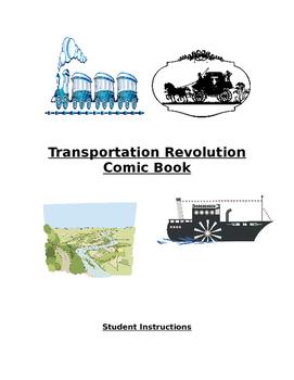 Transportation Revolution Comic Book