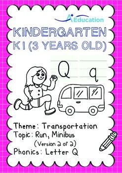 Transportation - Run, Minibus (II): Letter Q - K1 (3 years