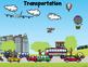 Grammar (Nouns, Verbs, Adj), Math, Writing ~~ Transportati