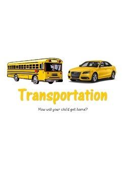 Transportation Sign- Elementary School