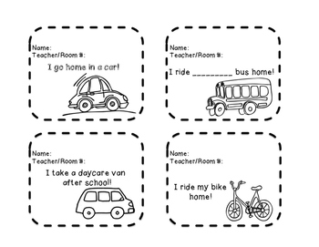 Transportation Tags