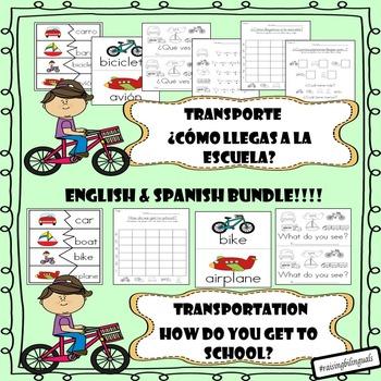 Transportation/Transporte Bundle
