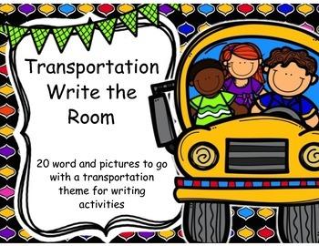Transportation Write the Room