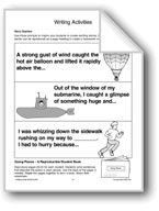 Transportation: Writing Activities