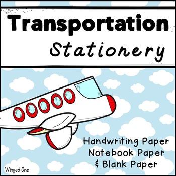 Transportation Writing Paper