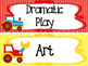 Transportation themed Printable Classroom Center Signs. Cl