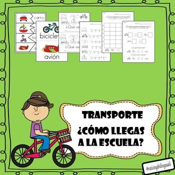 Transporte (Como llegas a la escuela)