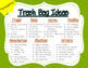 Trash Bag Inferences: Lesson Plan and Graphic Organizer fo