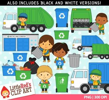 Trash Collectors Clipart