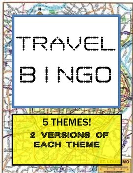 Free Travel Bingo!