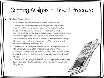 Travel Brochure - Setting Analysis