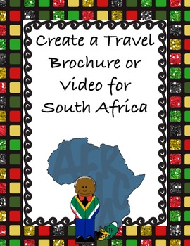 Travel Brochure or Video of South Africa
