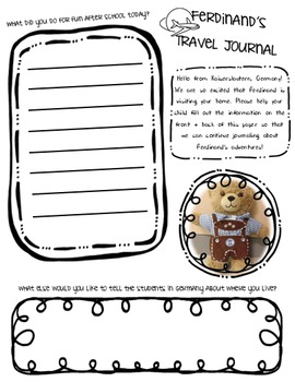 Travel Buddy Journal
