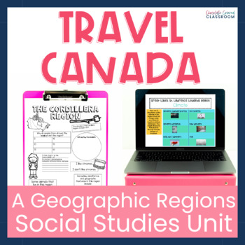 Travel Canada – A Fun and Engaging Upper Elementary Social