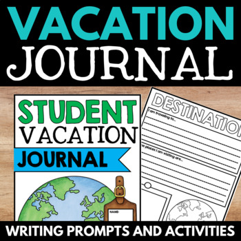 Travel Journal - A Variety of Journal Pages for Student Va