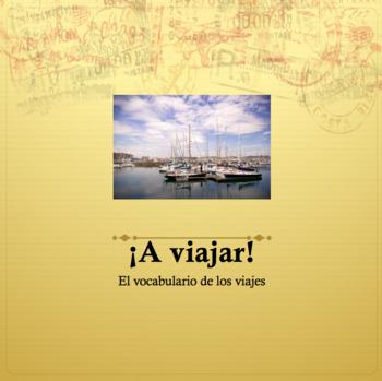 Travel Vocabulary Powerpoint