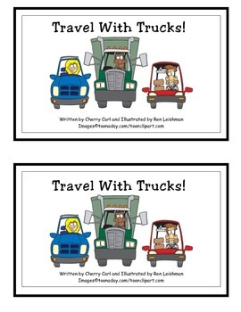 Travel With Trucks Guided Reader (Tr blend)