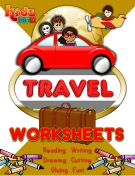 Travel Workbook (50 pages)