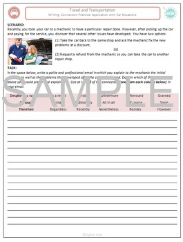 Travel and Transportation (A): Writing a Car Repair Compla