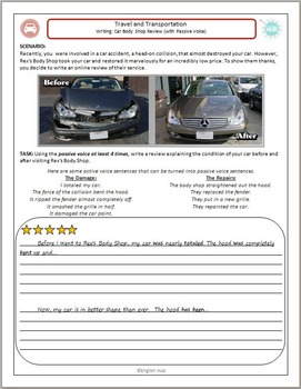 Travel and Transportation (A): Writing a car repair review