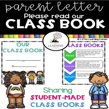 Parent Letter - Traveling Class Books