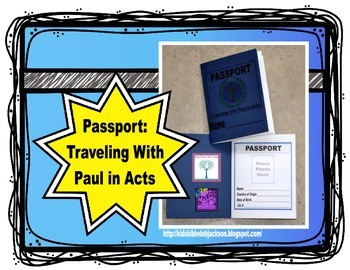 Traveling With the Apostle Paul in the Book of Acts Passpo