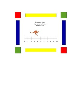 Traveling the Number Line - P.E./Math Lesson - CCSS K.OA.A