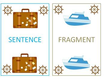Traveling with Sentences and Fragments