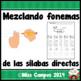 Silabas Directas - Tracing Spanish Initial Syllables