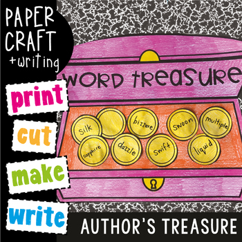 Treasure Chest Craftivity {Reading / Writing Craftivity}