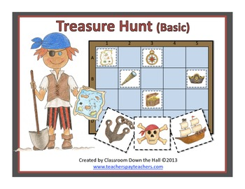 Treasure Hunt (Basic): A Grid Game