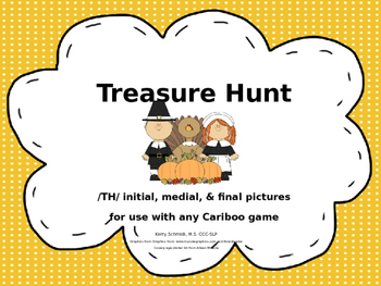 Treasure Hunt Game for Articulation - TH