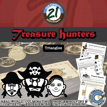 Treasure Hunters: Centers of Triangles Project