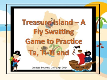 Treasure Island - A Fly Swatting Rhythm Game to Practice T