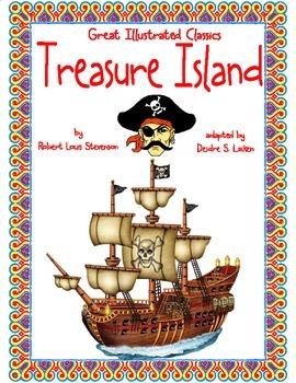 Treasure Island (Great Illustrated Classics) Binder Cover