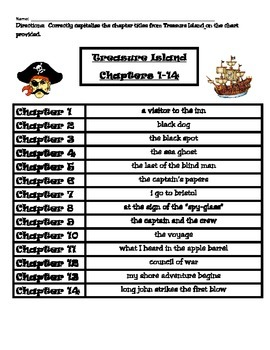 Treasure Island (Great Illustrated Classics) Capitalizatio