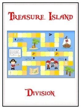 Treasure Island Math Folder Game - Common Core - Division