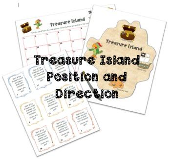 Treasure Island Position and Direction