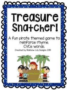 Treasure Snatcher CVCe Rhyme Game
