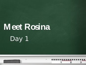 Treasures - 2nd Grade - Meet Rosina - Day 1
