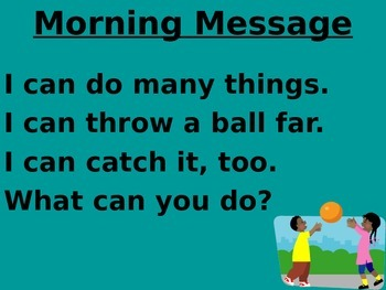 Treasures 1st grade Unit 5 week 4 PPT for Morning Messages