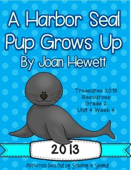 Treasures 2013 Resources-A Harbor Seal Pup Grows Up- Grade