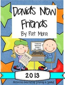 Treasures 2013 Resources-David's New Friends- Grade 2, Uni