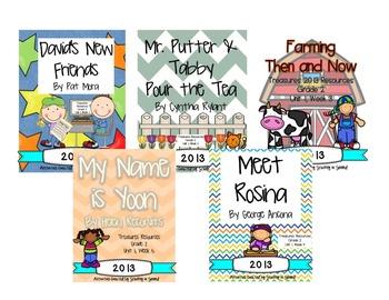 Treasures 2013 Unit 1 Bundle (2nd Grade)
