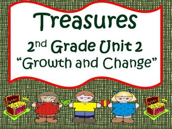 Treasures 2nd Grade Unit 2 Bundle