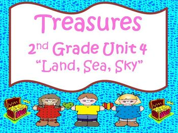 Treasures 2nd Grade Unit 4 Bundle