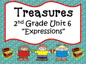 Treasures 2nd Grade Unit 6 Bundle