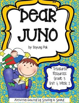 Treasures 3rd Grade - Dear Juno - Unit 1, Week 2
