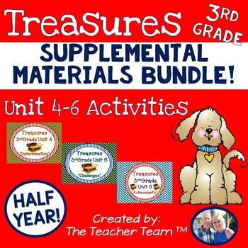 Treasures 3rd Grade Bundle Unit 4, 5, 6